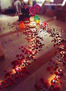 ترلان پروانه در روز تولدش غافلگیر شد!!+عکس