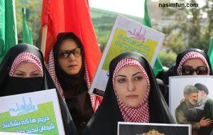 تصاویر تجمع در تهران به دلیل اعتراض به وضعیت نامناسب حجاب