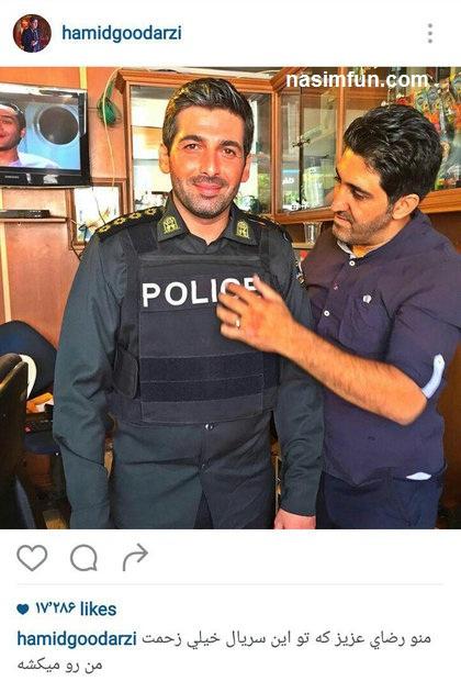 حمید گودرزی ونقش متفاوت درسریال جدیدش+عکس
