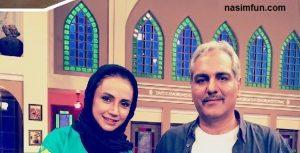 شبنم قلی خانی دربرنامه ی دورهمی+عکس