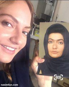 گریم مهناز افشار درفیلم سینمایی نهنگ عنبر 2 + عکس