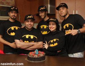 نفیسه روشن برای همسرش جشن تولد گرفت!+عکس