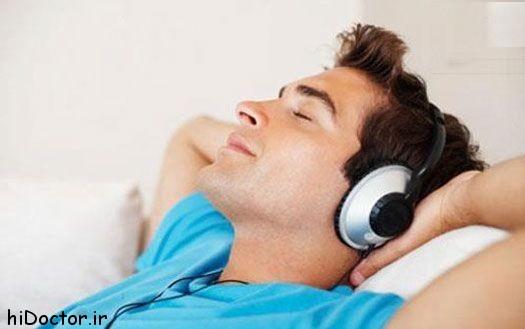 قطع خودکار موسیقی بعد از به خواب رفتن