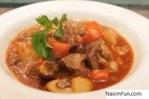 طرز تهیه تاس کباب با مرغ یا گوشت