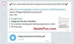 دانلود مستقیم لینک ها در تلگرام!!