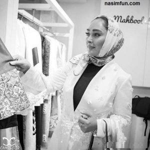 عکس از تیپ متفاوت الهام حمیدی و شیلا خداداد در یک آتلیه