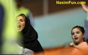 عکس های جنجالی دختران و زنان ایرانی در ورزشگاه آزادی