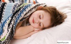 خواب ارام در شب های گرم تابستان