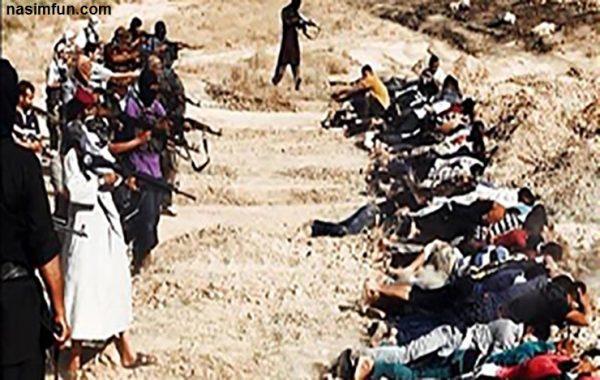 اعدام 24نفر از اهالی یک روستا توسط داعش+عکس
