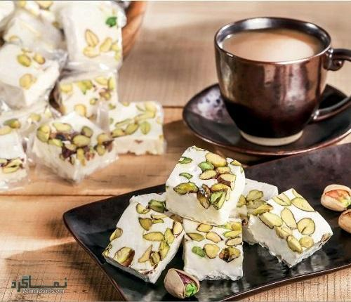 طرز تهیه شیرینی نوقا مجلسی + فیلم آموزشی