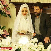 مجری مشهور تلویزیون ازدواج کرد+عکس