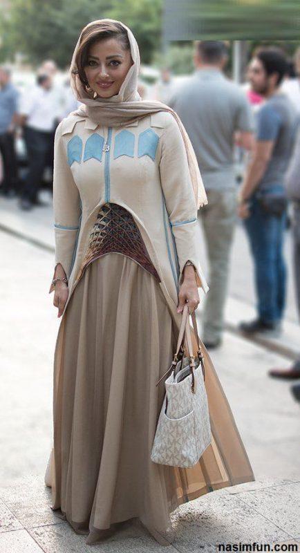 لباس جالب دو بازیگر زن در جشن حافظ!!+ عکس