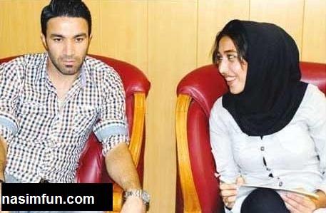 عکس جواد نکونام و همسرش عادله نکونام + مصاحبه