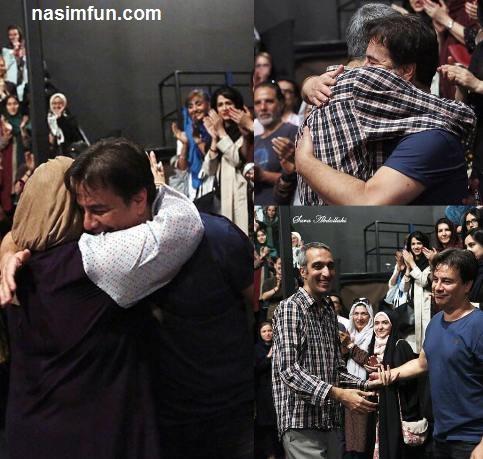 بهاره رهنما پیمان قاسم خانی را در آغوش کشید!+عکس