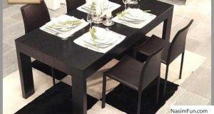 میز غذاخوری شیک و مدرن