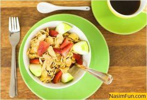 صبحانه خوشمزه و رژیمی