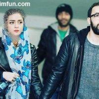 نقش آفرینی علی منصور همسر ترانه علیدوستی در فیلم من + عکس