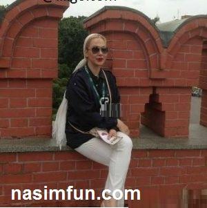 عکس جنجالی آنا نعمتی درخارج از کشور