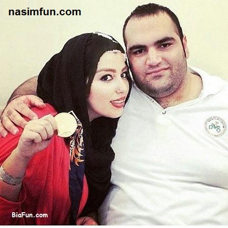 دلنوشته عاشقانه همسر بهداد سلیمی (آلما نصرتی) بعد از حذف از المپیک +عکس