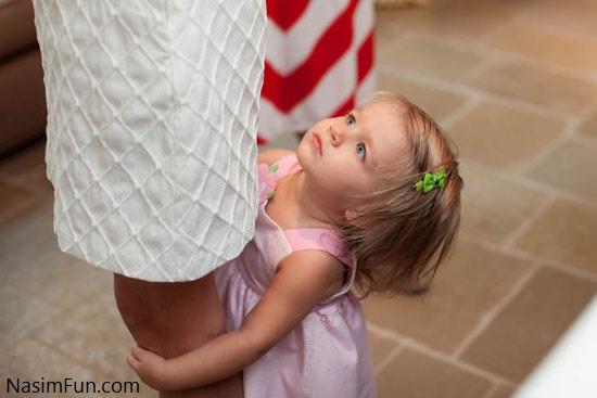 علل و راه های درمان وابستگی شدید کودک به مادر