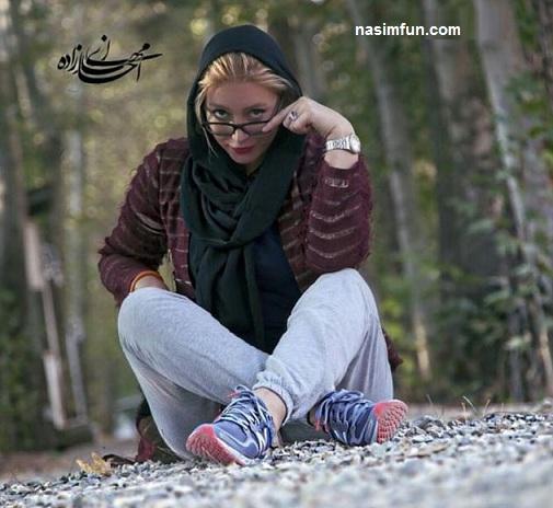 عکس سفر فریبا نادری به کربلا!!!+عکس