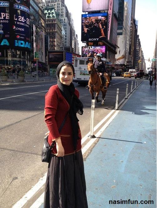 عکس جدید سپیده خداوردی در خارج ازکشور
