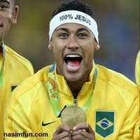 عکس فوتبالیست معروف (نیمار) در المپیک ۲۰۱۶ با دو میلیون لایک+عکس جدید