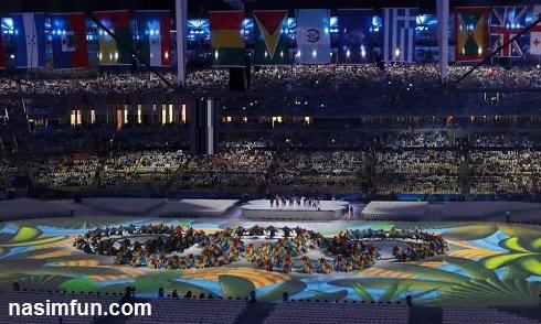 تصاویری زیبا و جالب از مراسم اختتامیه المپیک 2016+عکس