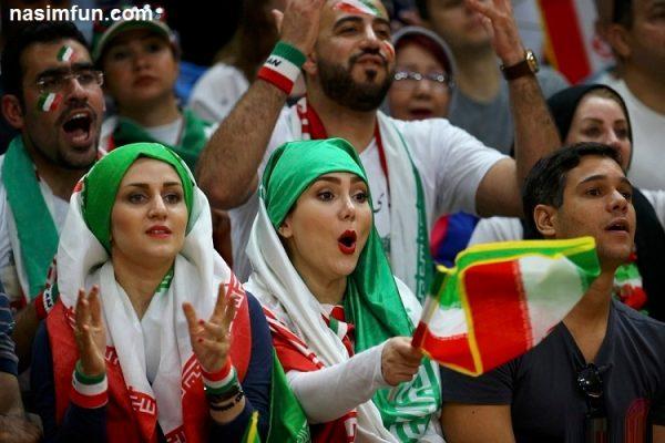 پیام تماشاگران زن ایرانی در المپیک ریو2016 + عکس