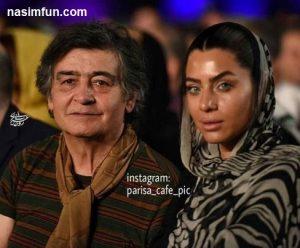 عکس جدیدبازیگر70ساله(رضا رویگری) در کنار همسرش