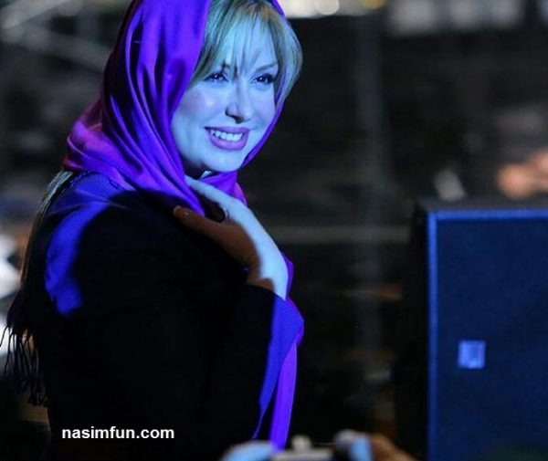 نیوشا ضیغمی و همسرش در کنسرت سالار عقیلی+عکس