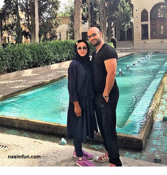 عکس جدید وعاشقانه حدیثه تهرانی بازیگر کشورمان وهمسرش کیان مقدم!!+عکس