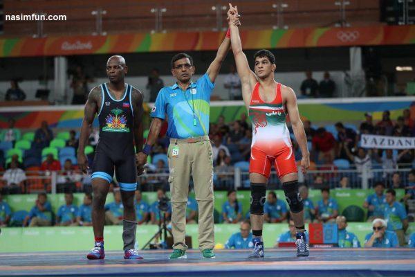 حسن یزدانی قهرمان المپیک ۲۰۱۶شد و طلسم ۱۶ ساله را شکست+عکس