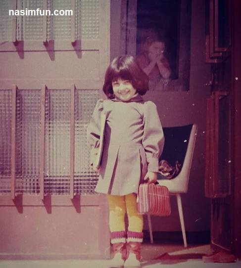 چهره بانمک آناهیتا همتی در اولین روز مدرسه اش!!!+عکس