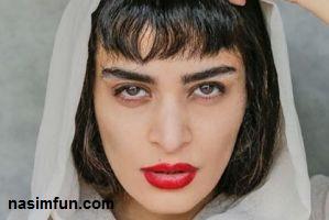 چهره ی جدید اندیشه فولادوند با گریم متفاوت در فیلم جدید اش!!!!+عکس