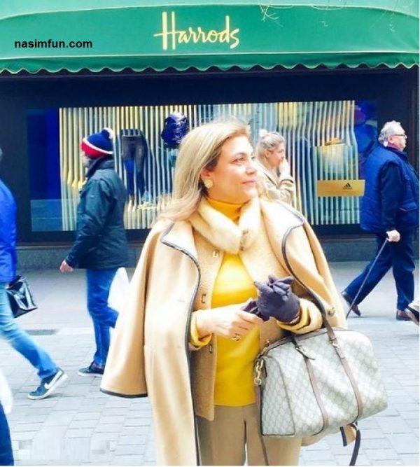 عکس جنجالی بی حجابی مادر سروین و ساره بیات بازیگر سینما