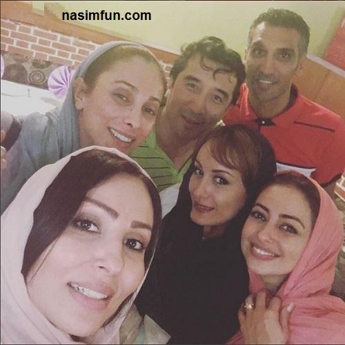 عکس جدید بازیگران زن درزکنار بازیکنان معروف فوتبال!!!+عکس