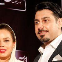 عکس های احسان خواجه امیری و همسرش در مراسم رونمایی از آلبوم جدیداش!!!!