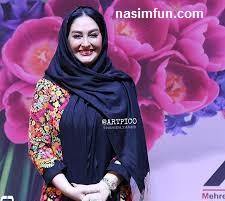 عکس جدید ودیدنی الهام حمیدی با روسری هفت رنگ!!!+عکس