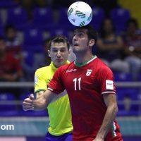 کلیپ برد فوتسال ایران برابر برزیل جام جهانی ۱ مهر ۹۵+دانلود فیلم
