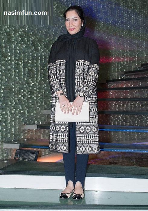 مدل مانتوی بازیگران دراکران فیلم هیهات!!!+عکس