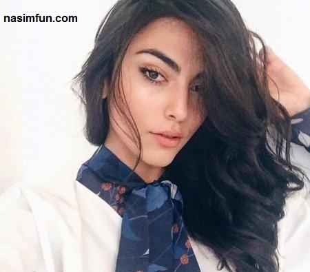 عکسی از مدل جنجالی لباس جولیا سالمی مدل دورگه ایرانی ایتالیایی!!!+بیوگرافی جولیا سالمی
