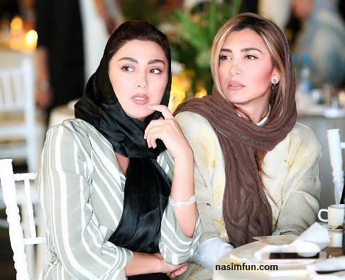 سوژه شدن مریم معصومی و خواهرش مرجان به علت پوشیدن مانتوی یکدیگر!!!+عکس