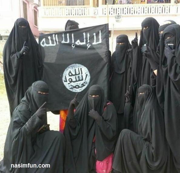 کیمبرلی مینرز مدل برهنه داعشی!!!+عکس