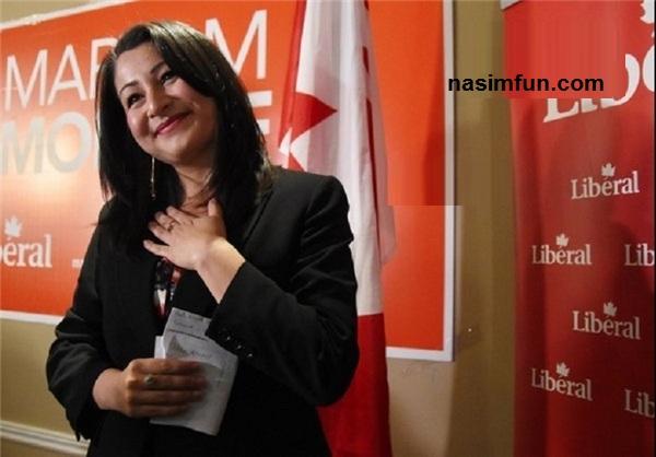عکس هایی از زن ایرانی که وزیر کانادا شد!!!+عکس