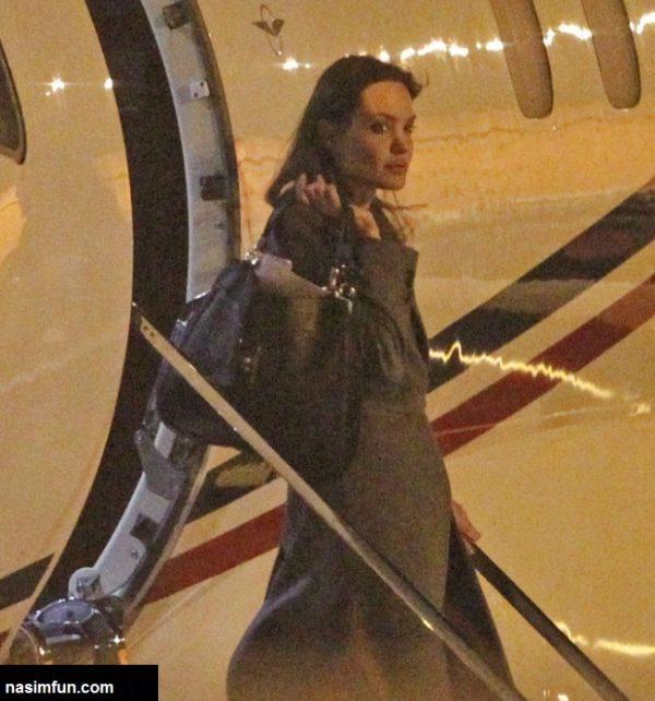 دعوای آنجلینا جولی و برد پیت و فرزندشان در هواپیما!!!+عکس