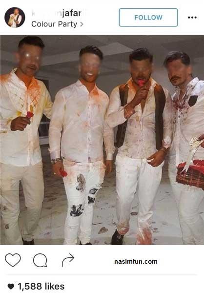 رنگ پارتی بچه پولدارها!!+عکس