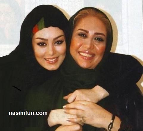 وقتی سحر قریشی عاشقانه مادرش را به آغوش می کشد!!+عکس