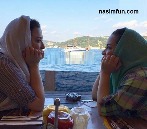 عاشقانه های مهراوه شریفی نیا و خواهرش ملیکا در اینستاگرام!!+عکس
