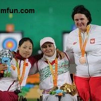 کسب هفتمین مدال طلای  کاروان ایران در پارالمپیک ۲۰۱۶توسط زهرا نعمتی!!+عکس